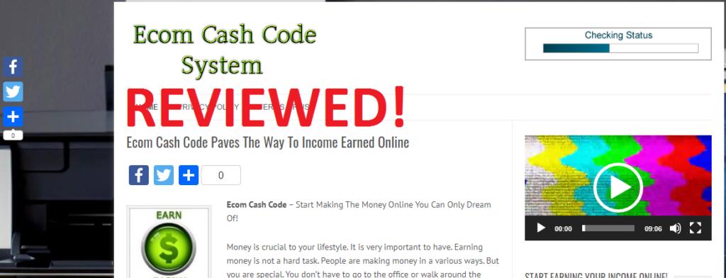 ecom-cash-code