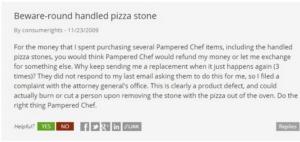pampered chef pyramid scheme