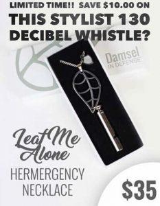 Damsel in Defense MLM Review - Damsel in Defense necklace