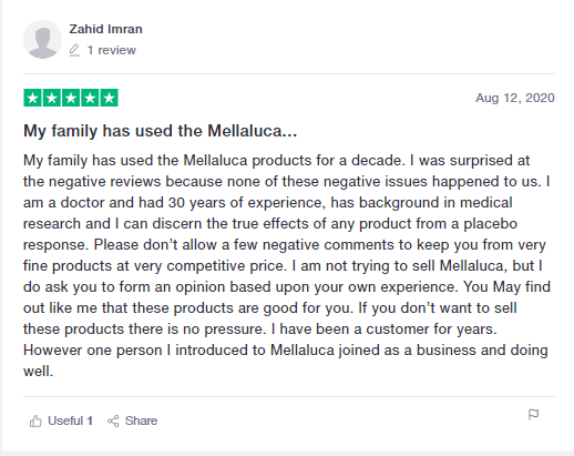 Melaleuca review 1