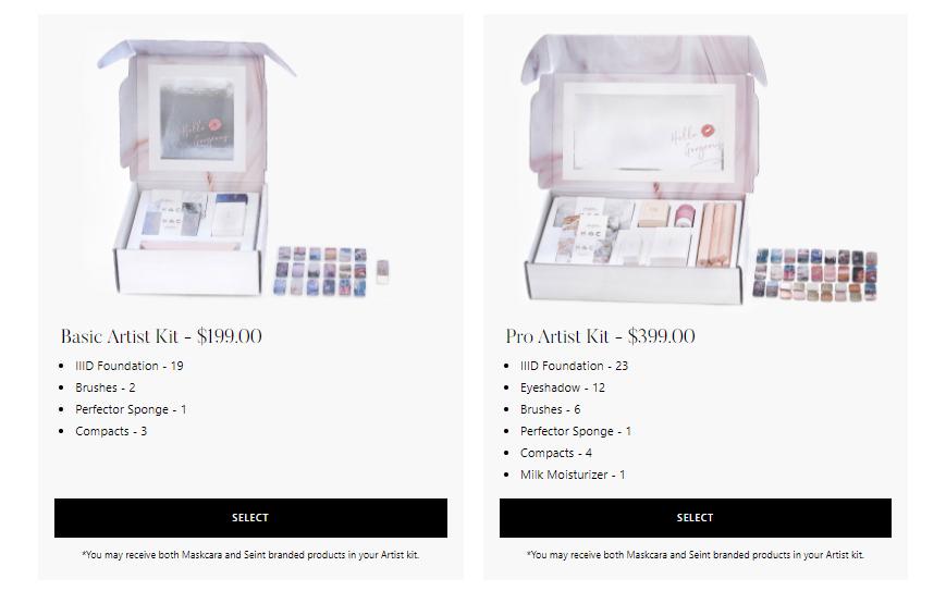 Seint Review - Seint starter kits
