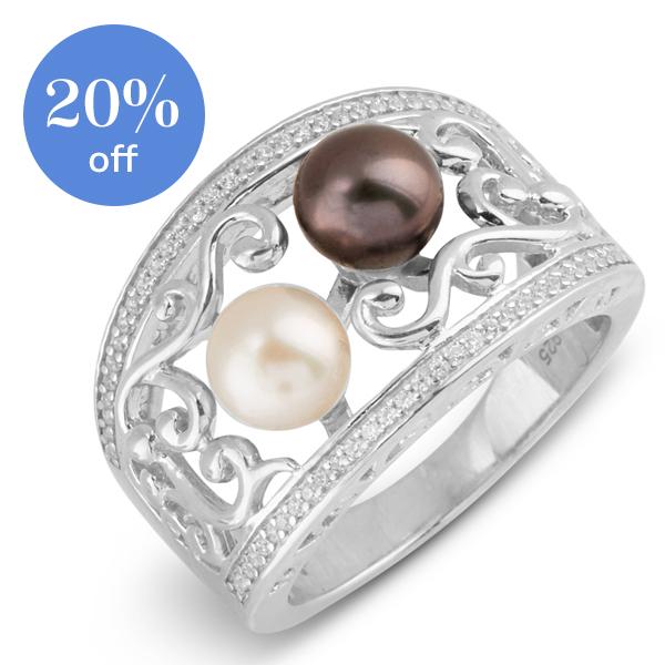 Vantel Pearls Review - Vantel Pearls Seraphina ring