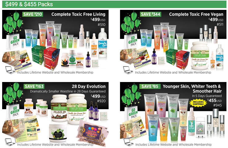 Essante Organics Review - Essante Organics starter packs 1