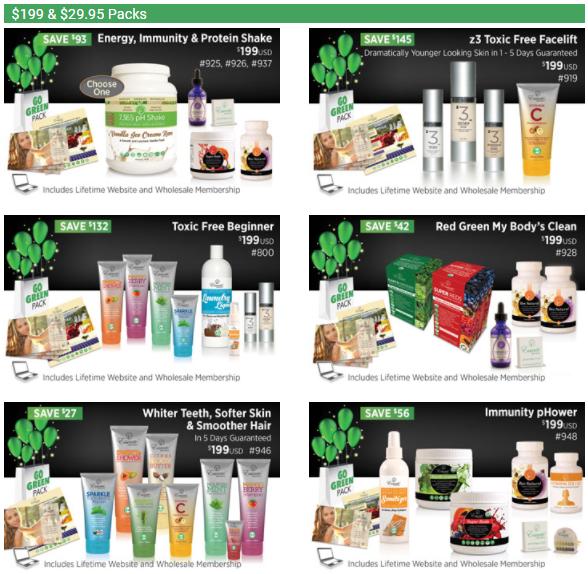 Essante Organics Review - Essante Organics starter packs 3