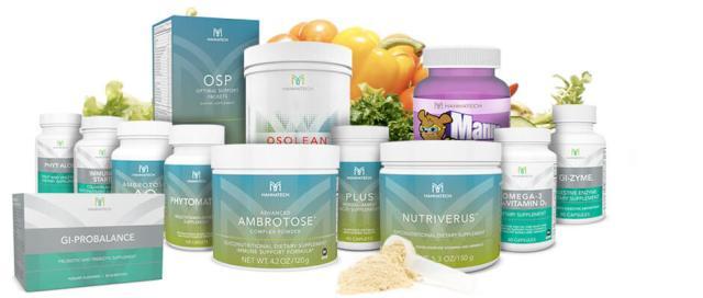 Mannatech MLM Review - Mannatech products 2