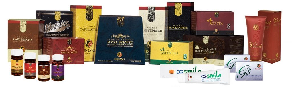 Organo MLM Review - Organo products