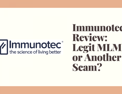 Immunotec Review: Legit MLM or Another Scam?