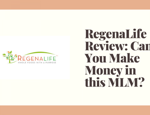 RegenaLife Review: Can You Make Money in this MLM?