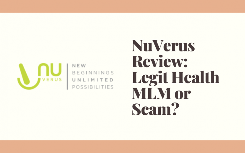 NuVerus Review: Legit Health MLM or Scam?